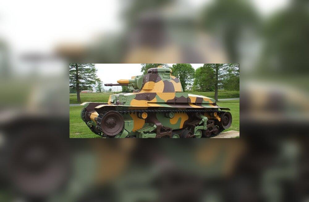 koda tank LT vz. 35 pensionipõlve veetmas