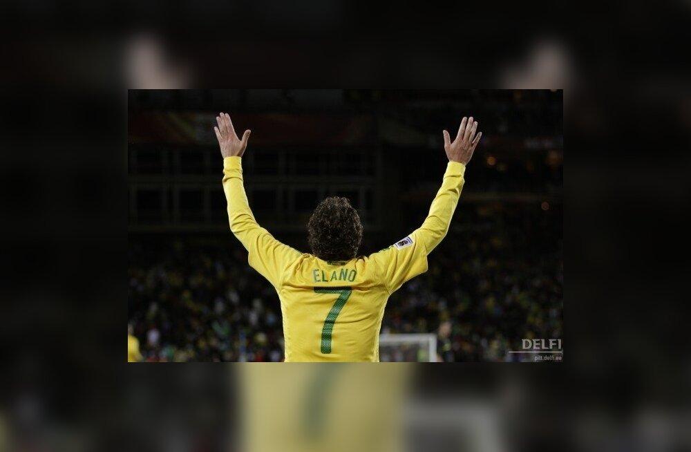 Jalgpalli MM, Elano pärast Brasiilia koondise teist väravat
