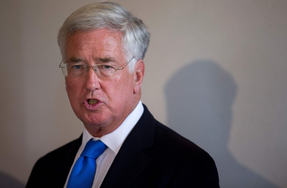 Briti kaitseminister: oleme Euroopa armee loomisele täielikult vastu