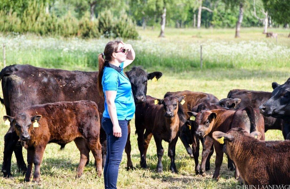 Euroopa anguse foorumi üks korraldajaid oli Lendermäe Anguse karja omanik Sanna Turu.