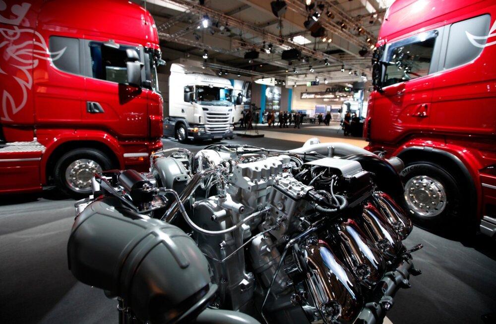 Scania raskeveokid.
