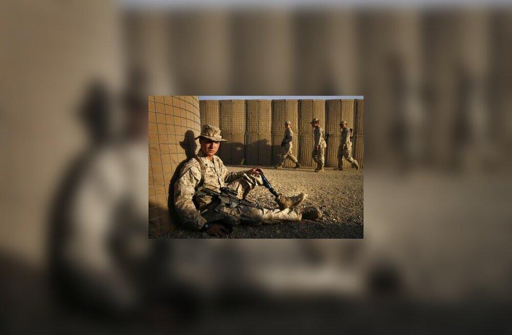 Iraagis jala kaotanud sõdur jätkab Afganistanis