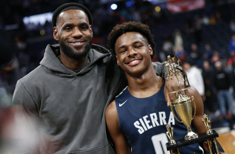 Nii sünnib staar: maailma parima korvpalluri poeg kütkestab juba 15-aastaselt rahvast rohkem kui mõni NBA klubi