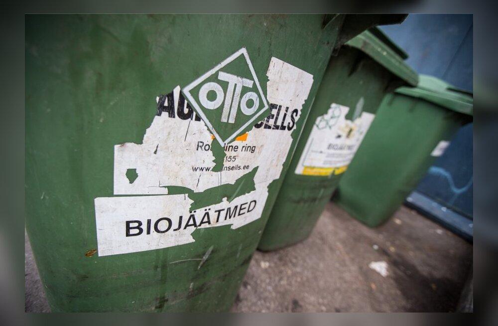 Ragn Sells biojäätmete kastid