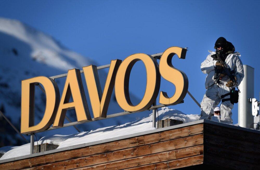 Sõnum Davosi ärifoorumilt: keskpankade korraldatud Ponzi skeem peaks kokku kukkuma