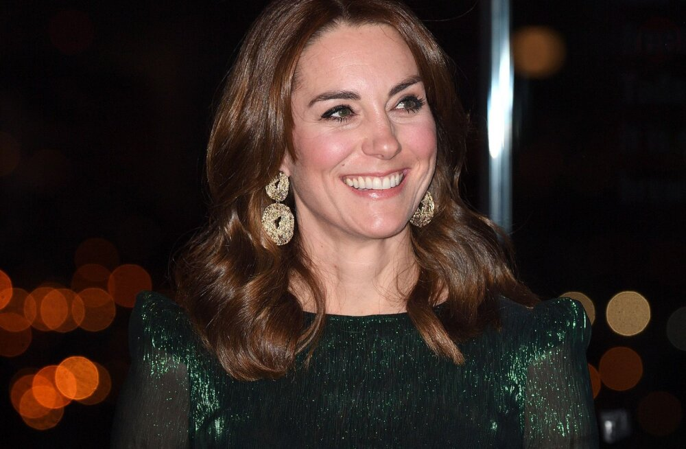 Платье Кейт Миддлтон признали нарядом десятилетия