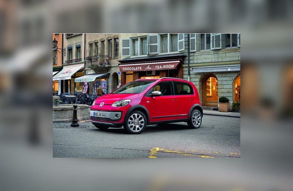 Volkswageni mudelivalikusse lisandub Cross Up!