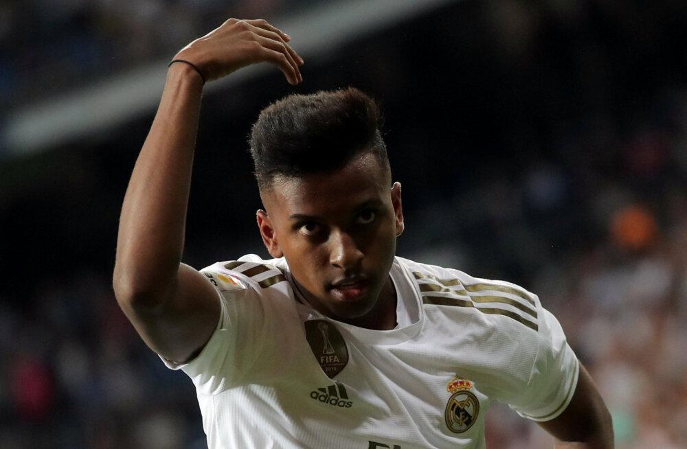 VIDEO | Noor brasiillane tegi Madridi Reali eest debüüdil skoori ning lõi üle Beckhami rekordi
