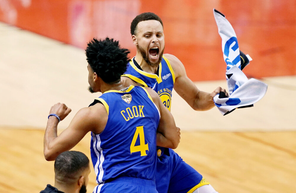 VIDEO | Warriors viigistas NBA finaalseeria Raptorsi vastu