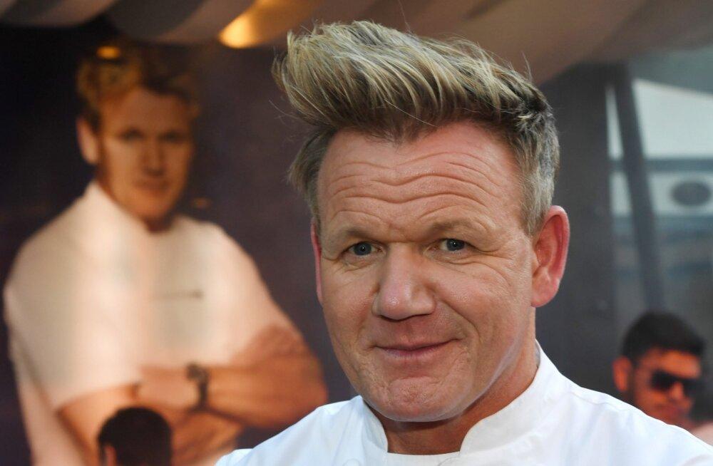 Gordon Ramsay peab võtma mitmeid miljoneid laenu, et tema restoraniimpeerium pankrotti ei läheks