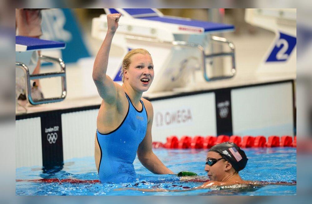 Leedu imelaps alustas MM-il kohe rekordiga
