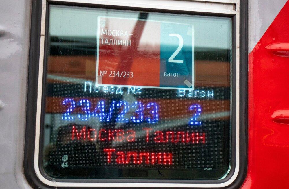 Hommikune Moskva rong 28.12.2019