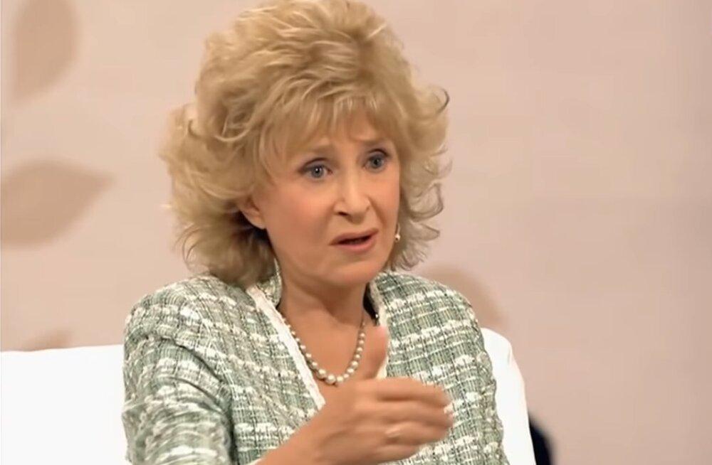 Регина Дубовицкая пожаловалась на размер своей пенсии
