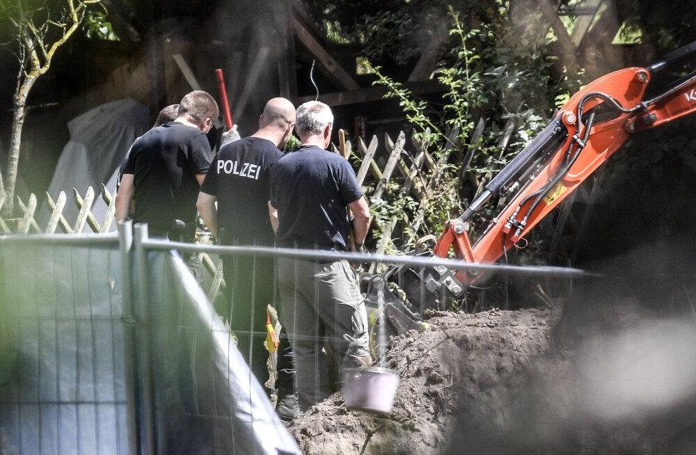 Saksamaal Hannoveris leiti Madeleine McCanni kadumisega seoses toimuvatel kaevamistel varjatud kelder