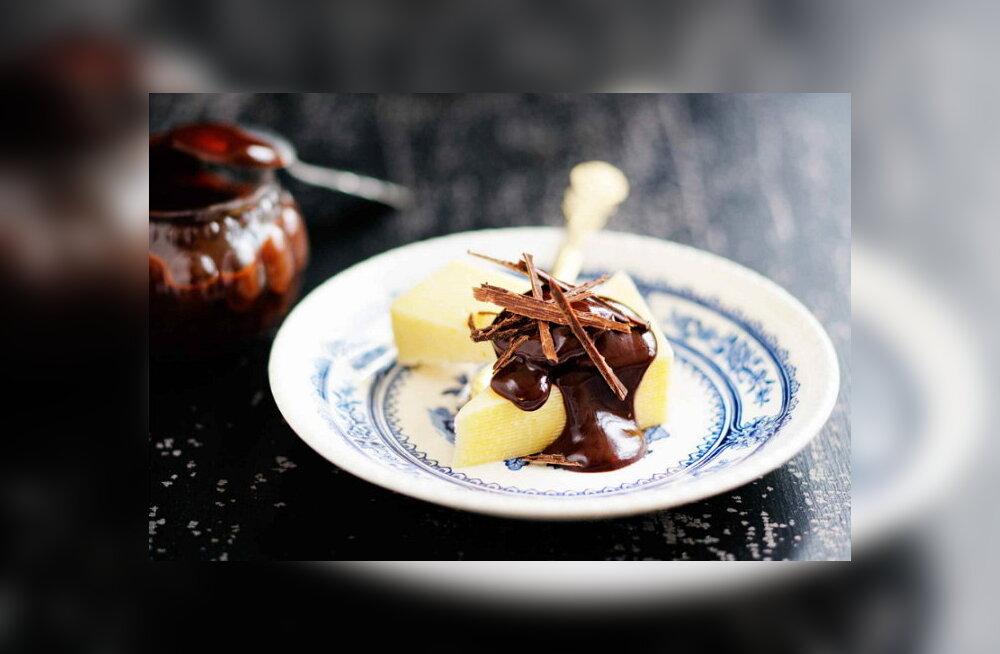 RETSEPT: Luba endale üks sügiseselt rammus ja uskumatult maitsev amps — juust šokolaadiga!