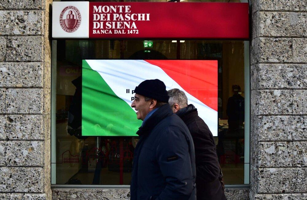 Itaalia pangad istuvad tiksuva kellapommi otsas