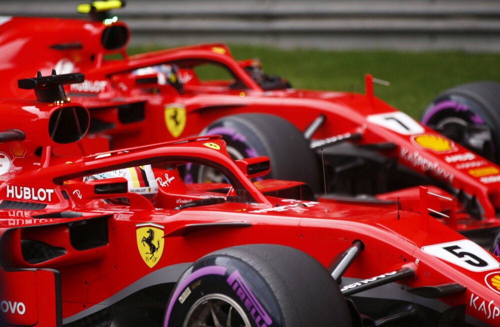 """Vetteli Ferrari roolil olev lisahoob tekitab vormelisõprades hämmastust. """"Miks seda Räikkönenil pole?"""""""