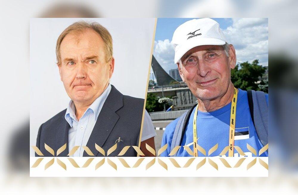 Государственные премии за дело всей жизни в области спорта были присуждены Тоомасу Мерила и Тоомасу Тынизе