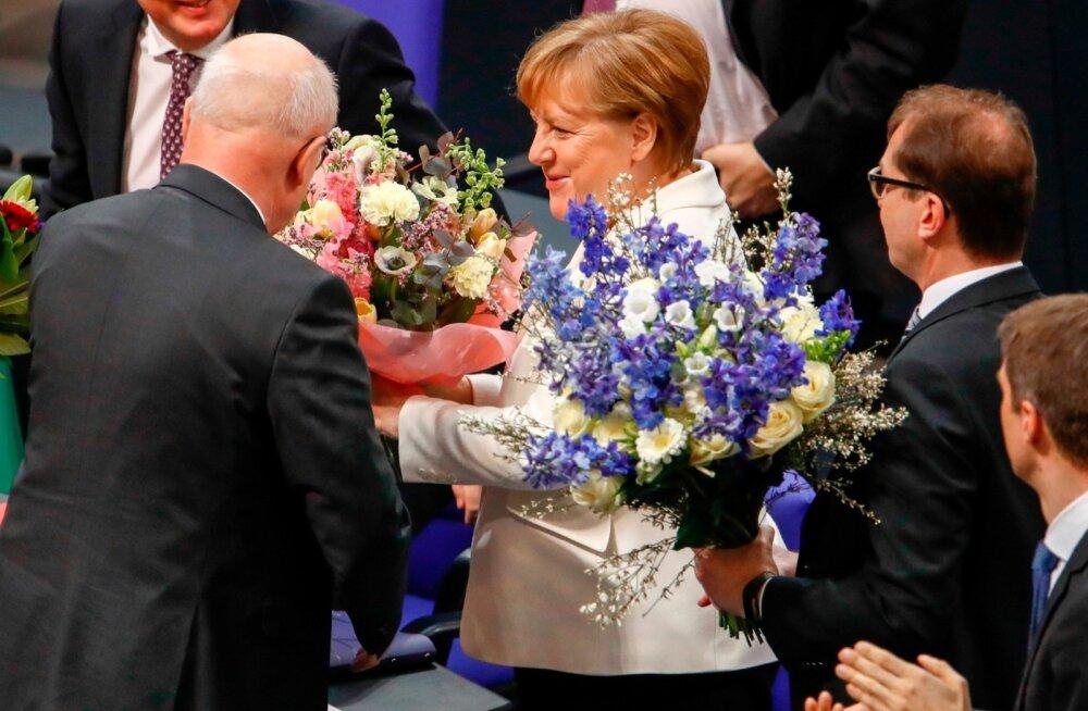 Bundestag valis Angela Merkeli neljandat korda Saksamaa liidukantsleriks