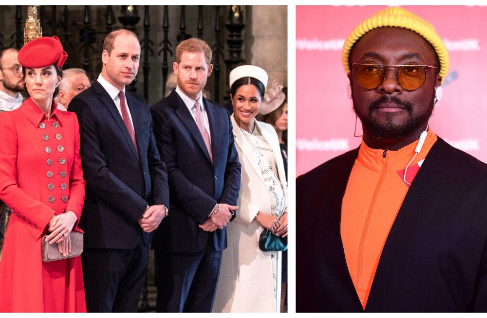 Uus karjäär: kes Briti kuningliku perekonna skandaalitaridest hakkab Will.I.Am'i abil muusikat tegema?