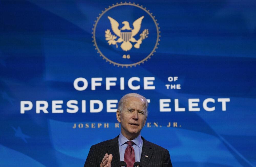 Joe Biden ei toeta Trumpi ametist tagandamist