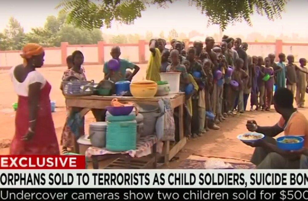 Lapsed müügiks: Nigeerias on see kaup ebatavaliselt lihtsaks tehtud