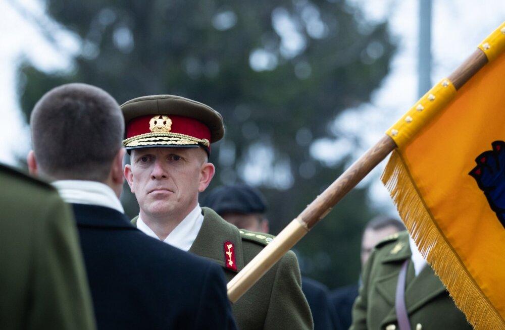 Kindral Riho Terras andis kaitseväe juhtimise üle kindralmajor Martin Heremile