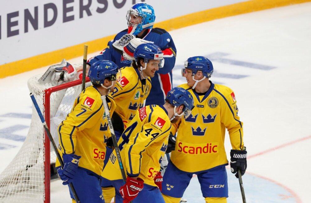 Rootsi jäähokimängijad