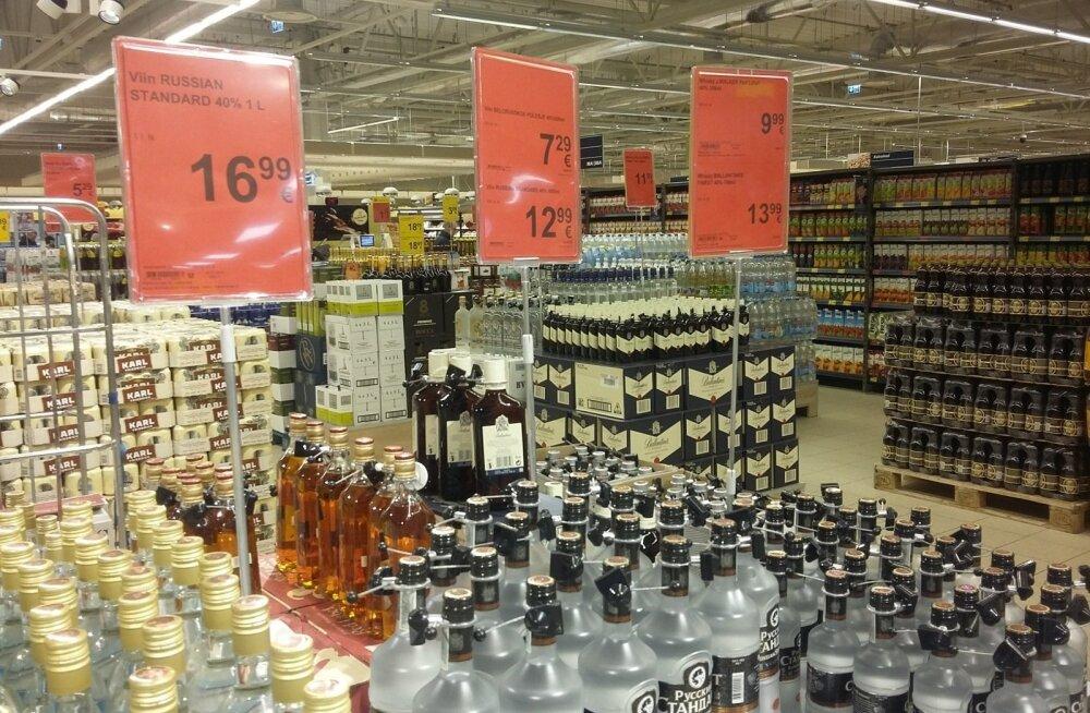 ФОТО: Новая реальность. Сколько сейчас стоит алкоголь в эстонских магазинах