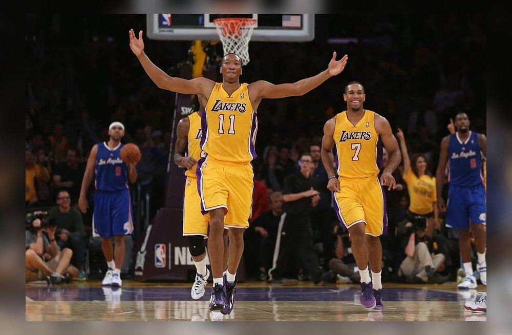 Lakers näitas Clippersile koha kätte, NBA