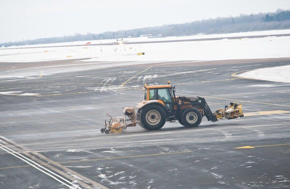 Lennujaamas