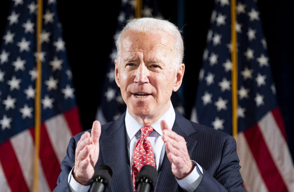 USA demokraatide eelvalimistel kolmes osariigis purustas Biden Sandersi
