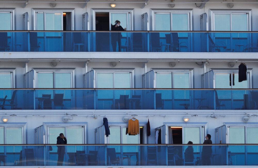 """""""США, спасите нас"""": как тысячи туристов спасаются от коронавируса и скуки на карантинном лайнере"""