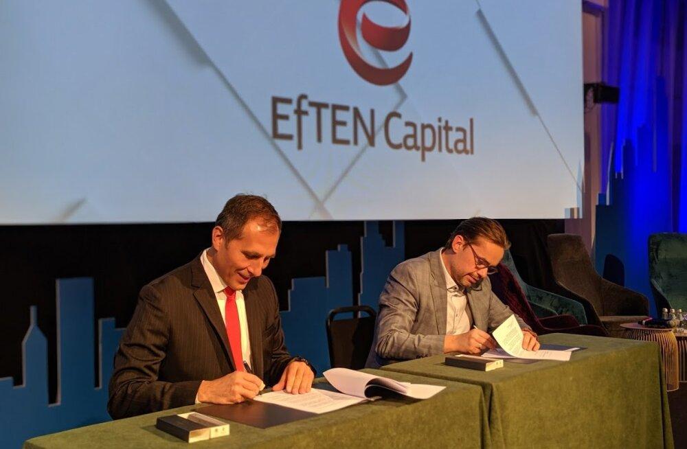 Efteni omapärane fond sai EBRDlt suurinvesteeringu