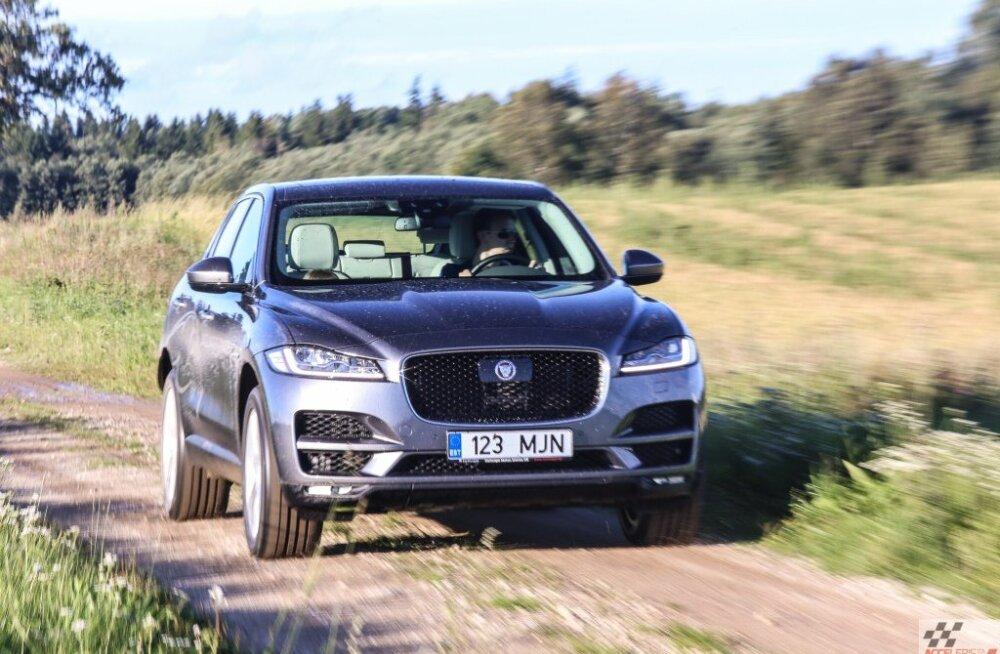 Napilt edestades Volvot: Maailma Naiste Aasta Autoks 2016 valiti Jaguar F-PACE