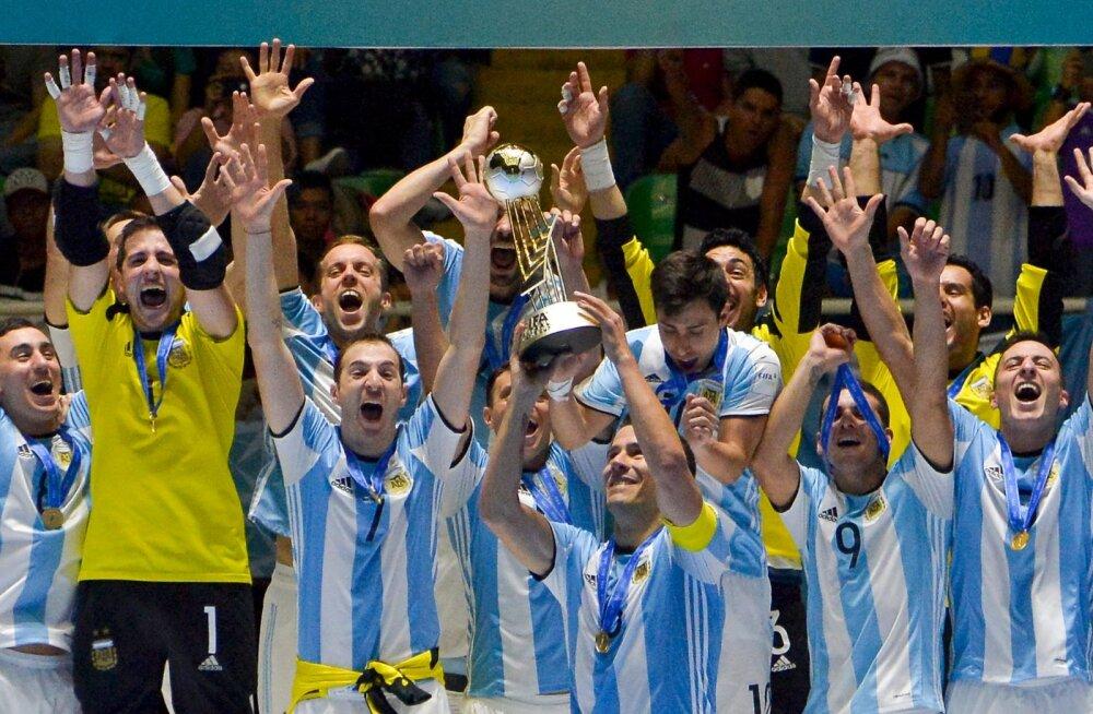 Argentina saalijalgpallurid