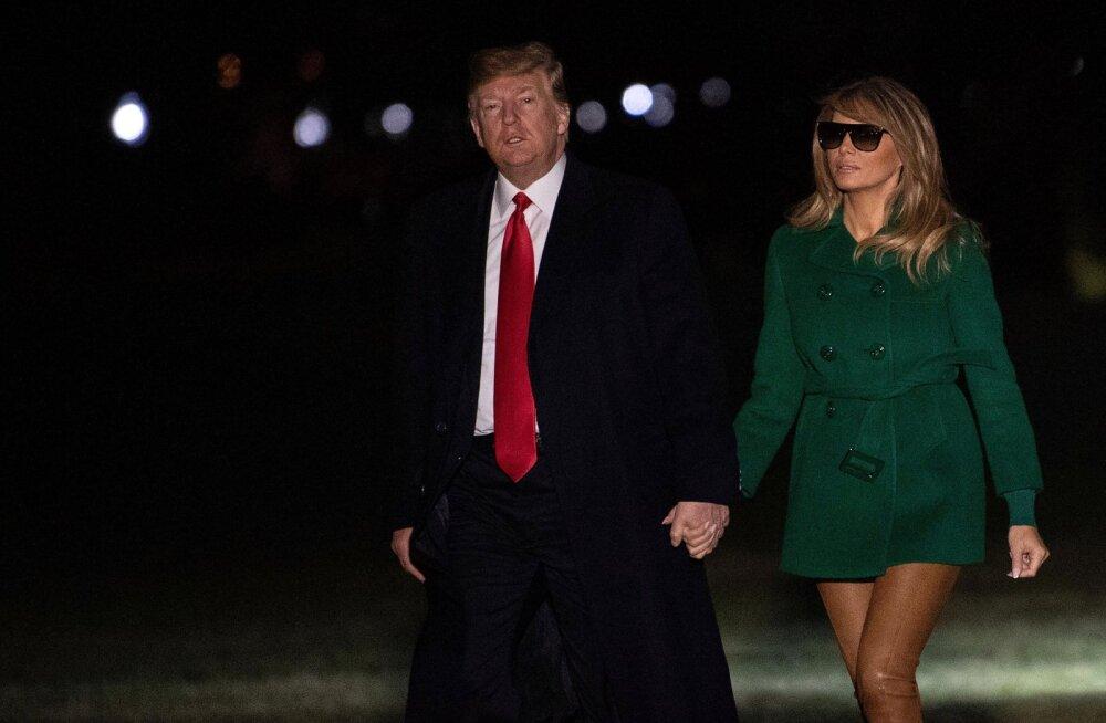 Silmapete või jäid püksid koju? Melania Trump tuli avalikkuse ette kentsakas riietuses