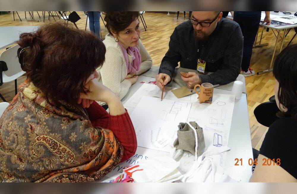 Baltimaade suurim loomemajanduse arendusmaraton ühendab endas IT, loovuse, käsitöö ja ringmajanduse