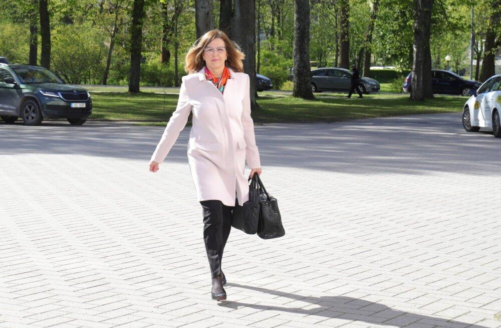 Kert Kingo minemas vestlusele Kaljulaidiga