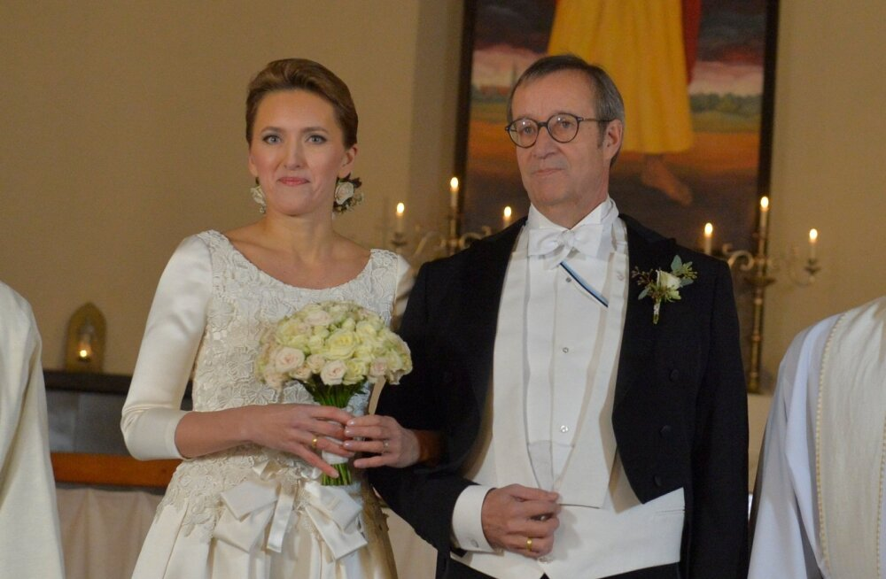 PULMABLOGI: Hõissa, Eestil on uus esileedi! President Toomas Hendrik Ilves abiellus oma lätlannast kallima Ieva Kupcega