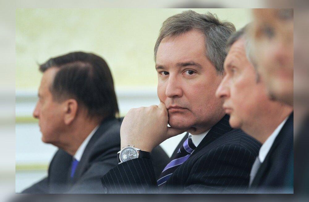 Medvedev vabastas Rogozini presidendi eriesindaja kohustest NATO juures