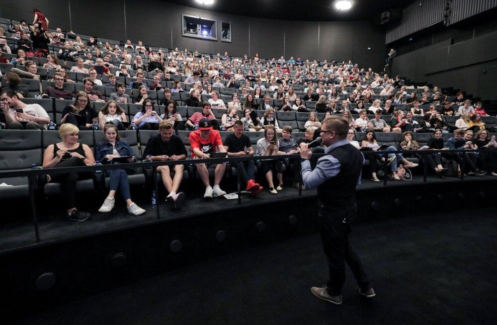 Tallinna päeva etteütlus kinos Cinamon Kosmos