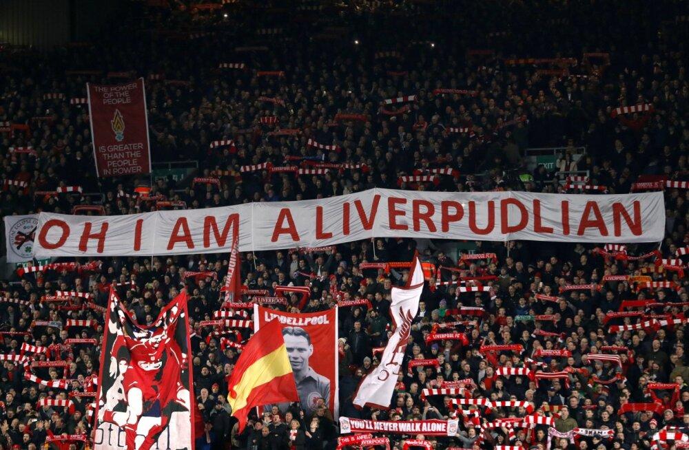 Liverpooli fännid