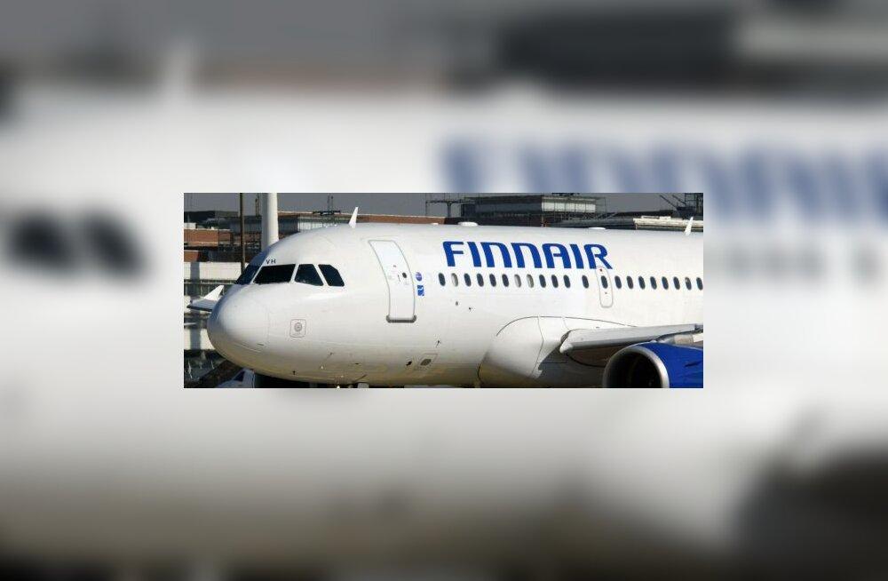 Finnairi lennuk pidi Eesti kohalt tagasi pöörduma