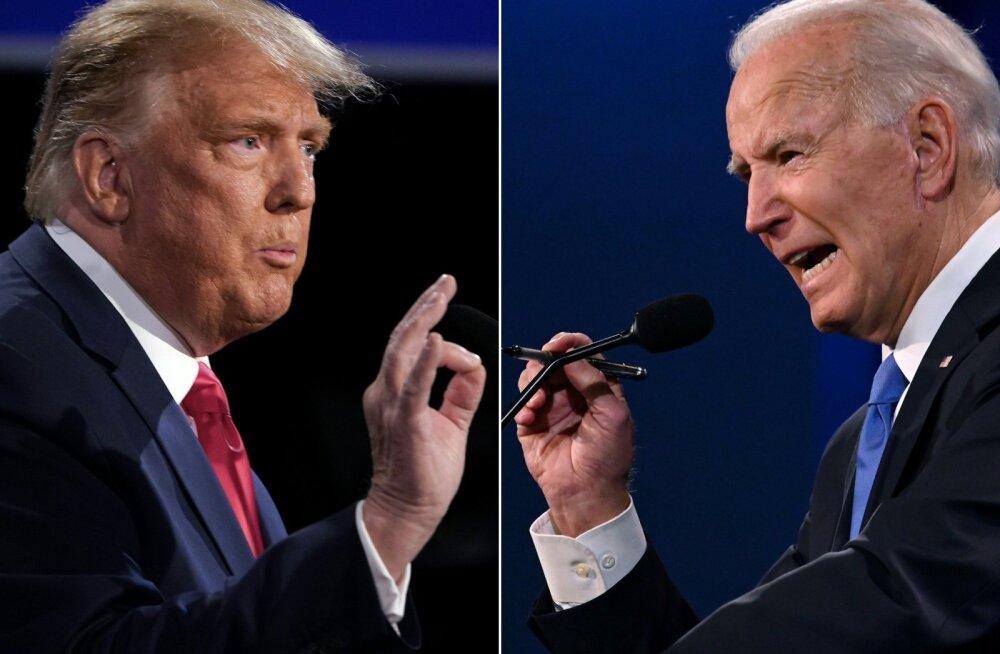 ÜLEVAADE | Trump ja Biden läksid vähem kui kaks nädalat enne valimisi viimast korda vastamisi