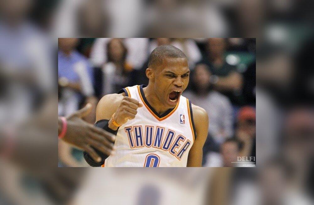 Russell Westbrook, NBA, korvpall