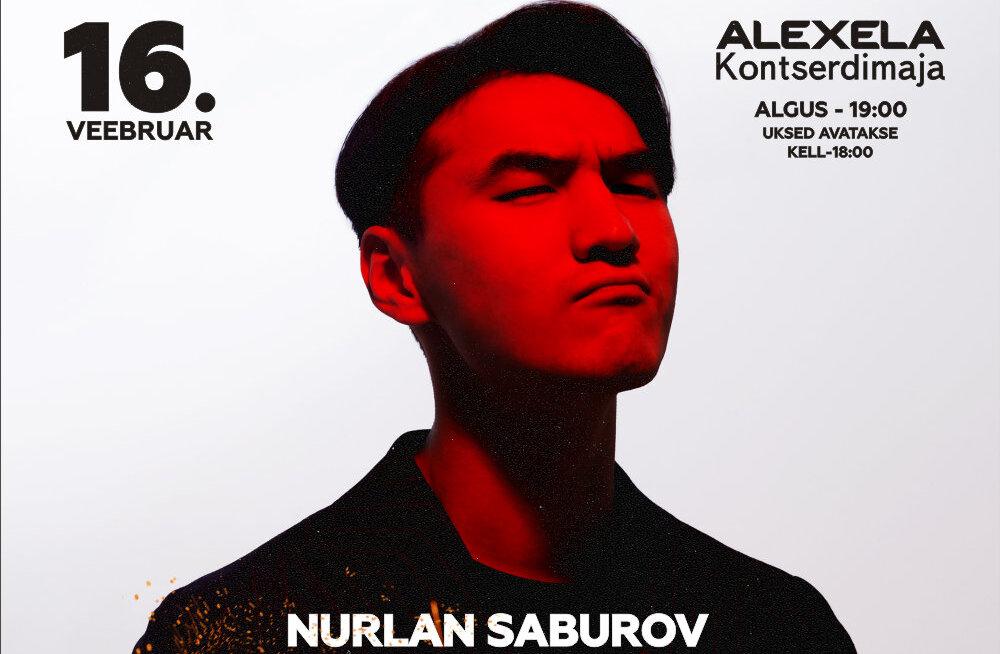 """Бублик"" разыграл 2 билета на сольный stand-up концерт Нурлана Сабурова"