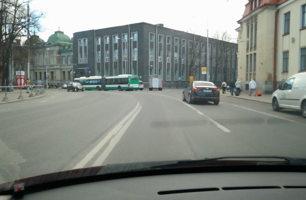 Audi rammis Eesti Panka