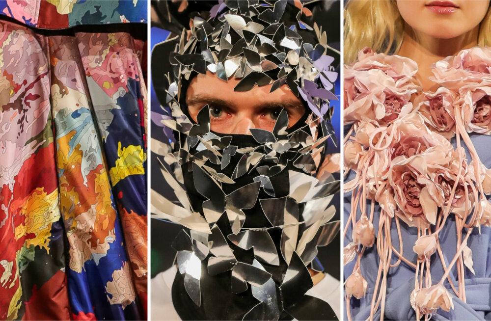 Delfi на Таллиннской неделе моды. Вы удивитесь! Эстонские дизайнеры обещают весну в цветах