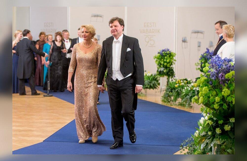 Euroopa parlamendi saadik Vilja Savisaar-Toomast ja Taimo Toomast